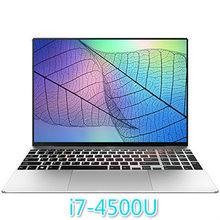 игровой ноутбук 15,6-дюймовый ноутбук четырехъядерный игровой ноутбук мобильный 12 Гб RAM 1 ТБ HDD 512G 256G 128GSSD ноутбуки Бизнес Офис студентов нетбу...(Китай)