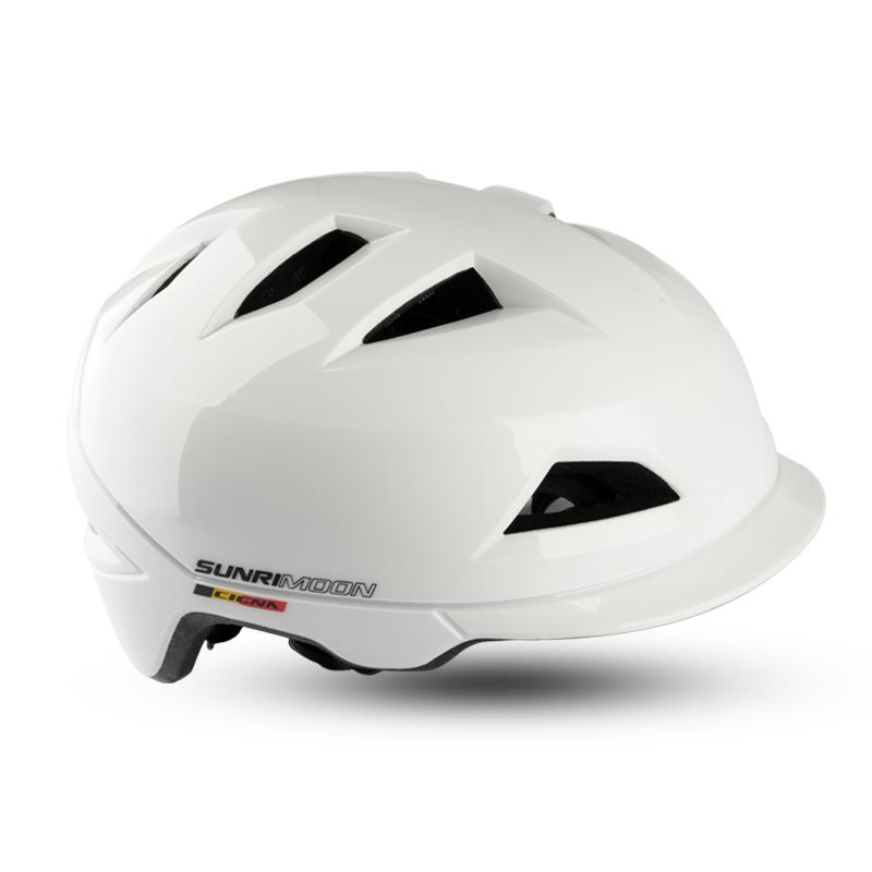 CIGNA Electric -bike with LED Light Sun Visor Safety cascos para bicicleta  For Adult City E-Bike Helmet