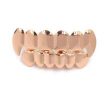 Хип-хоп золотые зубы клыки плоские зубы сверху и снизу 8 зубные грили стоматологический Косплей вампирский зуб шапки фестиваль ювелирный по...(Китай)
