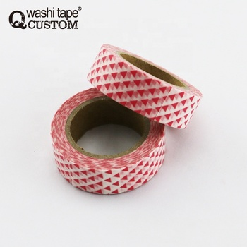 Decoration lover Valentine's Day washi tape rolls