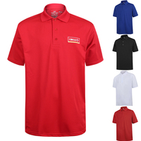 Polo T-shirt Mens Shirts Golf Breathable Polyester Blank Cheap Printed 100% Cotton Polo Shirt