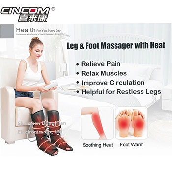 China Manufacture Air Bag Compression Pressure Leg Electric Air Thigh Massager Leg Massager