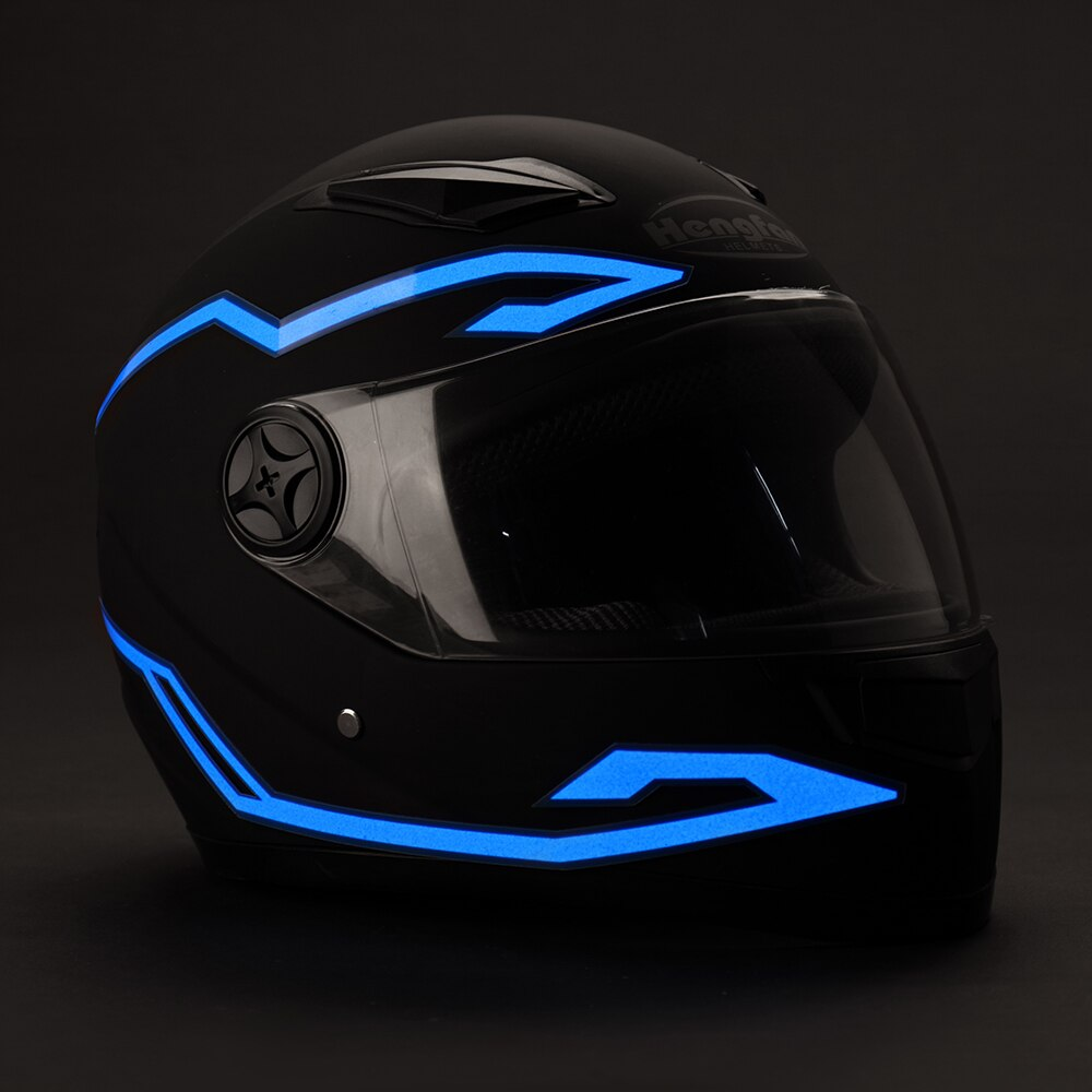 4 Luces Led Para Casco Motociclista Moto Seguridad Noche