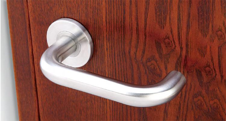 EN1906 Grade 4 door handle lever set for high frequency usage