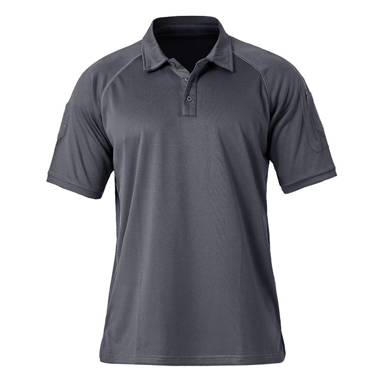 OEM Personnalisé Militaire 100% Polyester Polo T-shirt Hommes Impression Fabricant De Vêtements De Sport Chemise de Combat Tactique