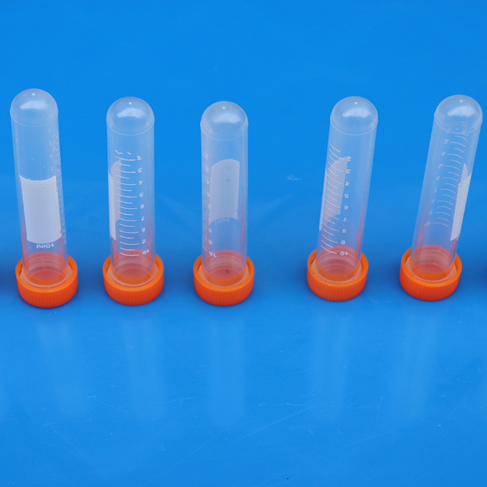 Screw Lid Experimental Detection Plastic Centrifuge Test Tube