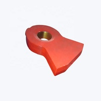 High Quality Wearing Resisting Spare Parts Hammer Head for Hammer Mill Crusher