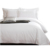 Wholesale European luxury hotel twin duvet cover 100% cotton bed sheets with duvet cover