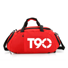 Unisex travel bag backpack nylon duffle bag men sport sling bag