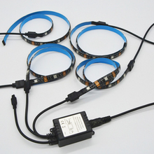 5V LED Strip Licht 5050 RGB Multi Colour USB <span class=keywords><strong>TV</strong></span> PC Back Sfeerverlichting, led strip licht <span class=keywords><strong>tv</strong></span> met afstandsbediening