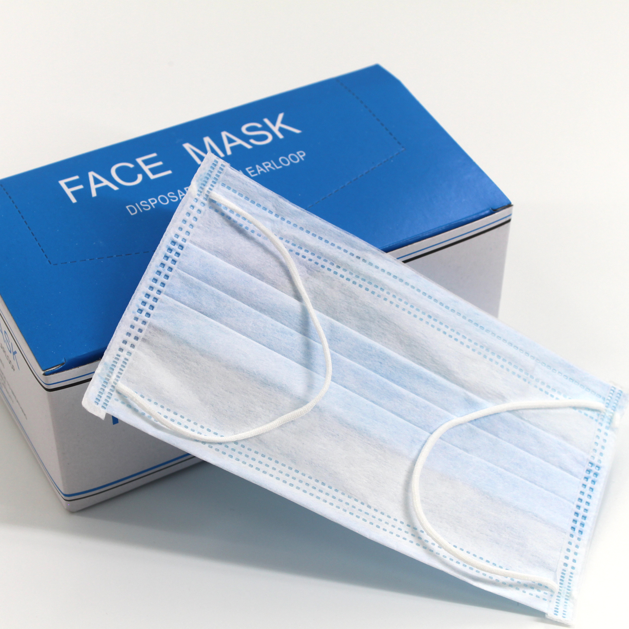 Disposable TNT Non woven Face Mask surgical mask ear loop