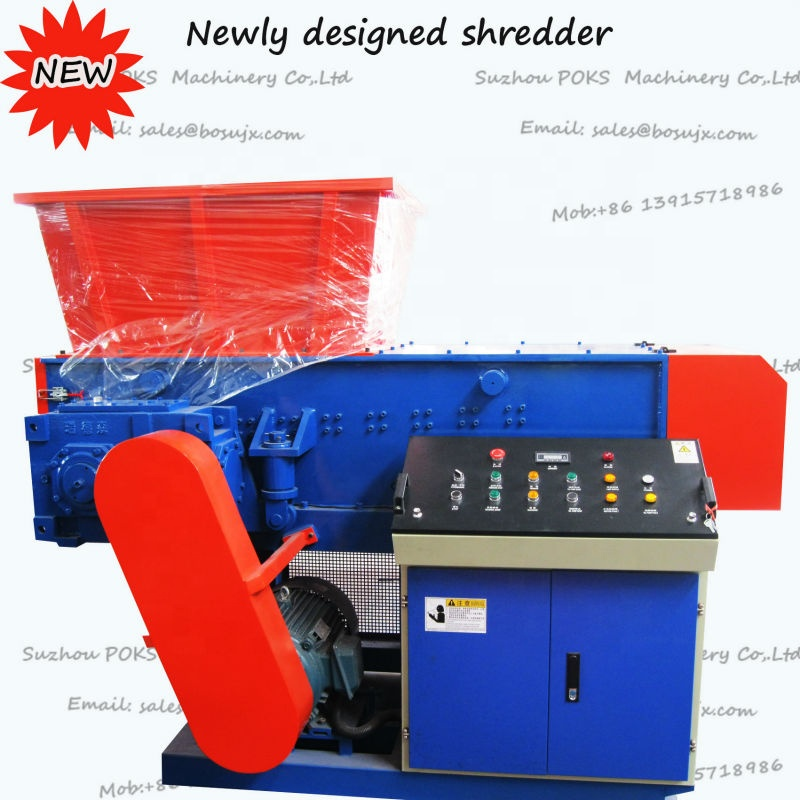 Plastic film fles jumbo bag brokken Shredder/crusher/Versnipperen Machine