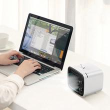 Baseus Мини Портативный Кондиционер USB вентилятор 3 скорости USB Удобный вентилятор воздушного охлаждения Настольный вентилятор охладителя воз...(Китай)