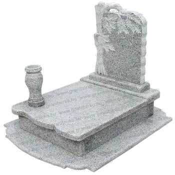 Granite G603 Stone Carved Monument & Tombstone & Headstone & Gravestone