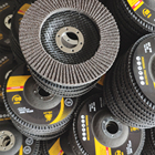 125x22mm abrasive flap disc flap wheel polishing, 5inch flap disc fiberglass back flexible flower disc