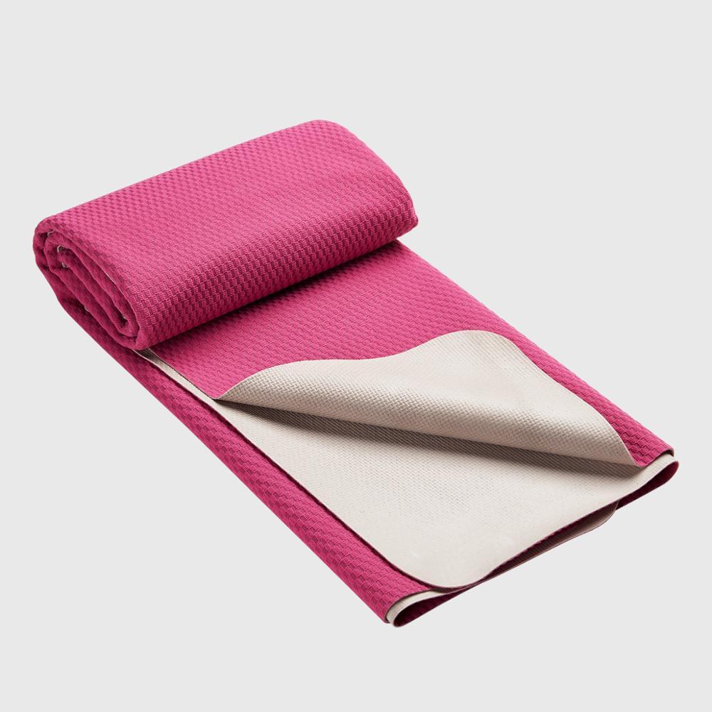 Rubber Thin Washable Foldable Travel Yoga Mat фото