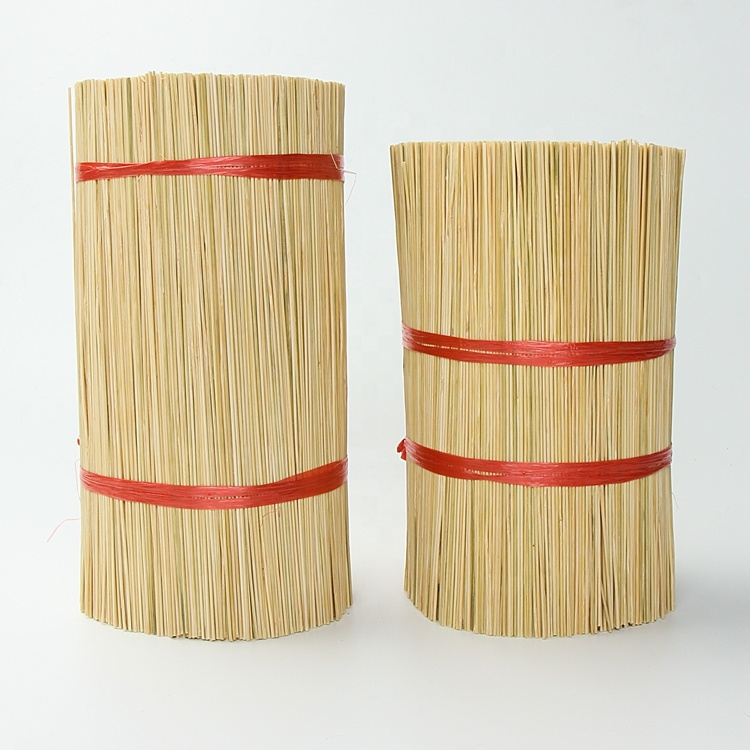 for agarbatti Eco friendly Natural Indian round bamboo stick making raw incense