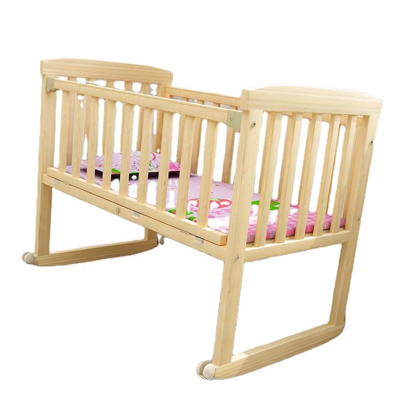 格安価格人気子供木製ベビーベッドベビーベッドのための