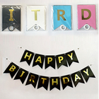 Birthday Decoration Paper Flag Paper Bunting Banners Flags Birthday Banner Birthday Party Supplies