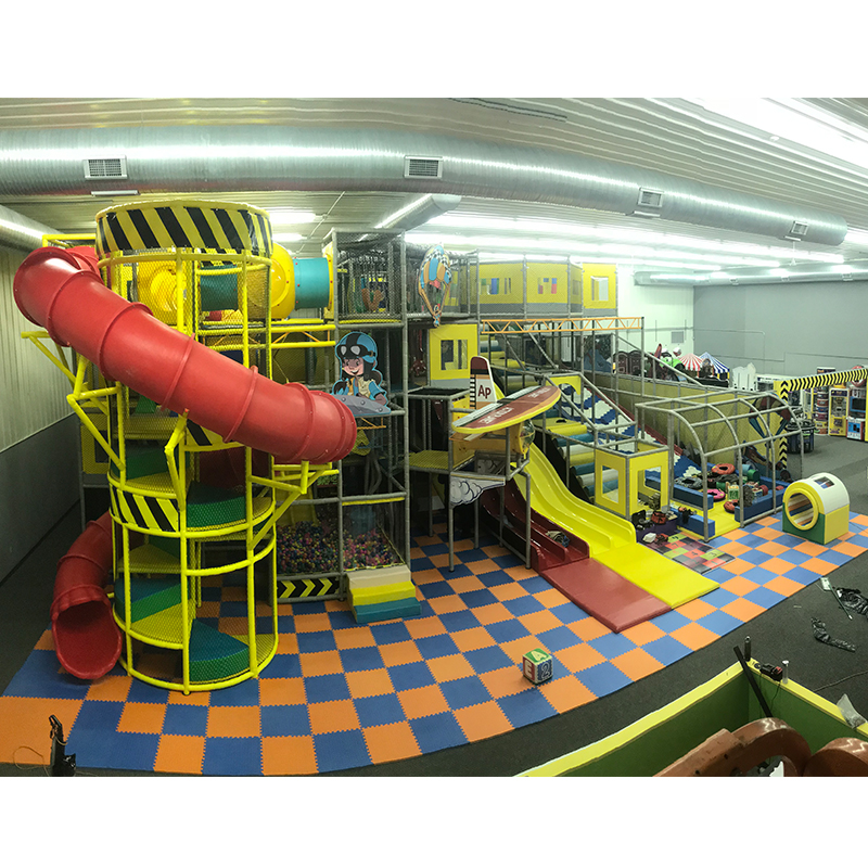 Soft Play Playground Equipment, Fun Amusement Park Kids Indoor Playground