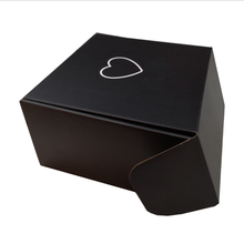 Schwarz well mailer box mailer box mit <span class=keywords><strong>logo</strong></span>