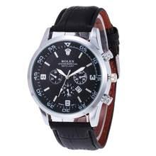 Винтажные резные часы, мужские оригинальные наручные часы со стальным ремешком, модные классические дизайнерские Роскошные брендовые золо...(China)