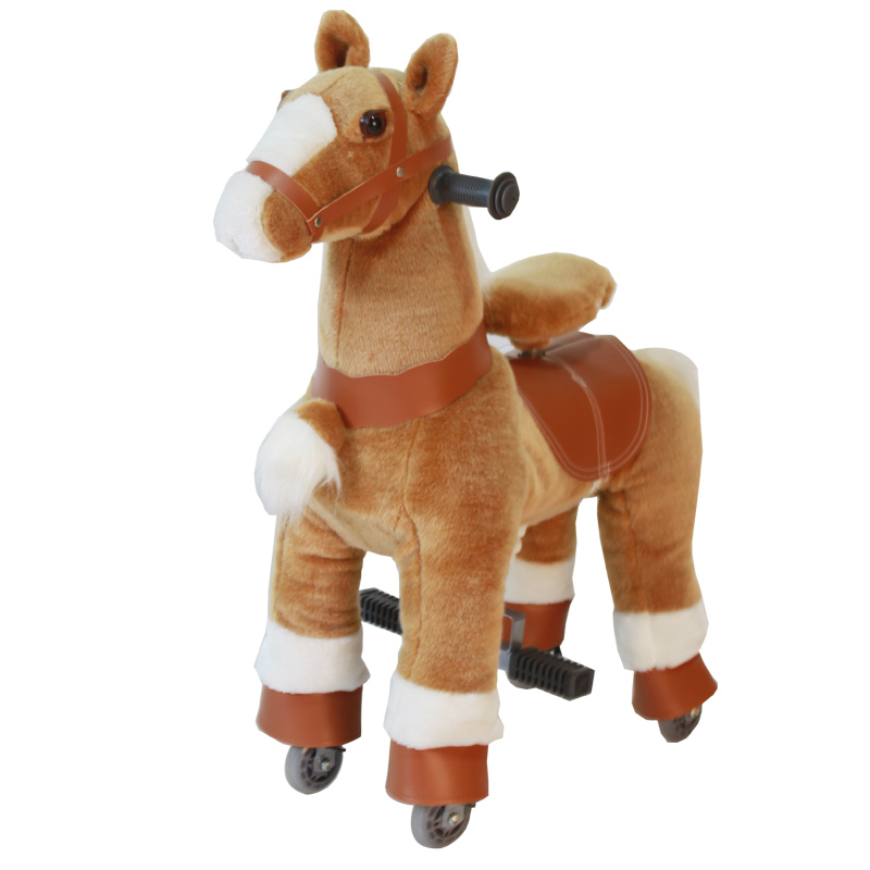 new design &quot;Giddy up rides&quot; riding horse walking ride on horse plush riding <strong>animals</strong>