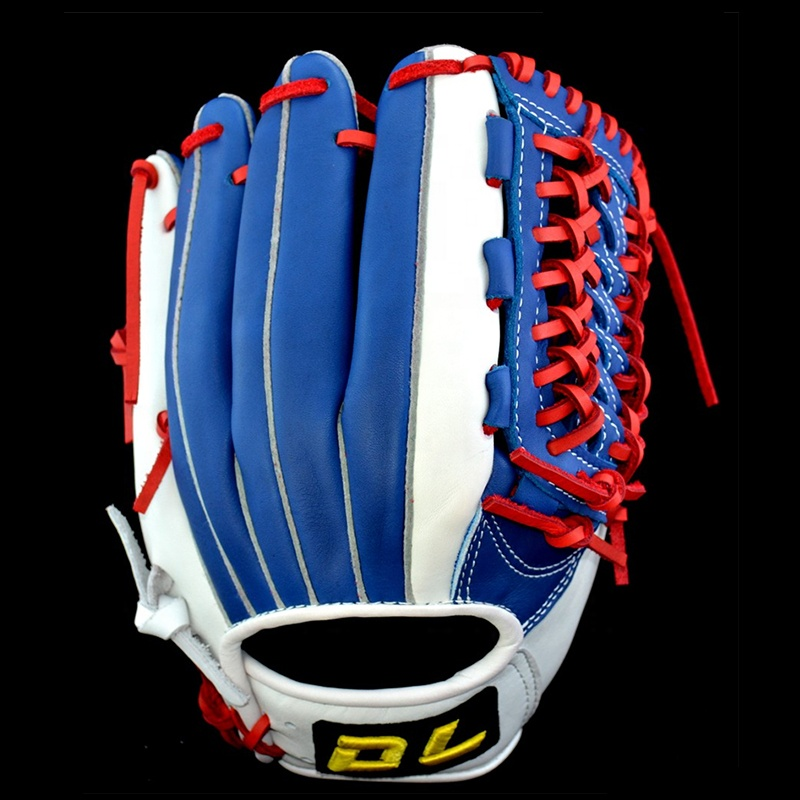 custom logo top high quality dl taiwan cowhide kip leather baseball catching training softball baseball gloves left right hande
