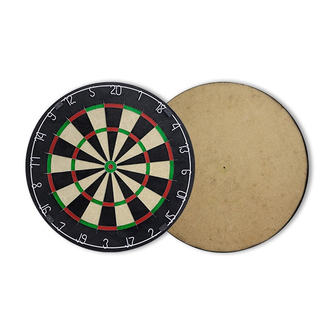 "Customized competition size sisal 18 ""dart board"