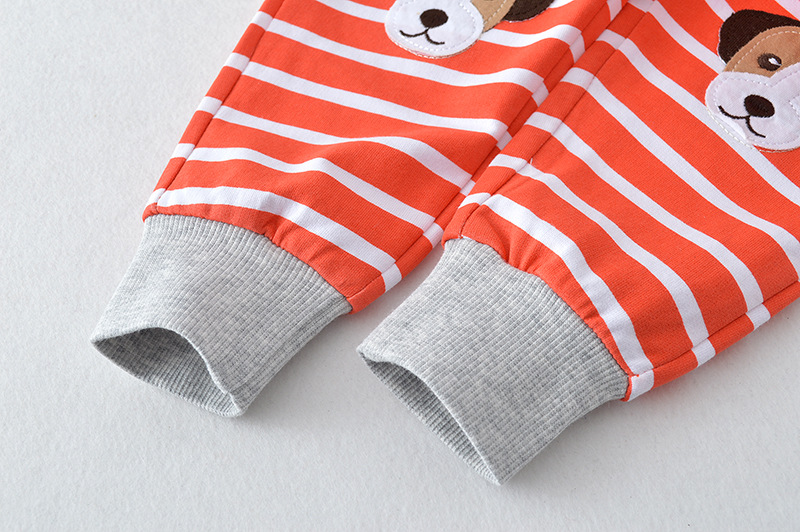 high quality Infant Baby Kids Sweatpants,Kids Dog Printed Sports Red Striped Pants wholesale cheap