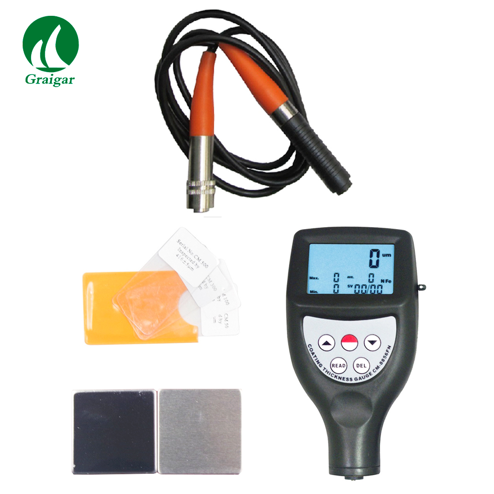 CM-8856 Coating Thickness Gauge Automatic memory of calibration value Range 0~1250um/0~50mil