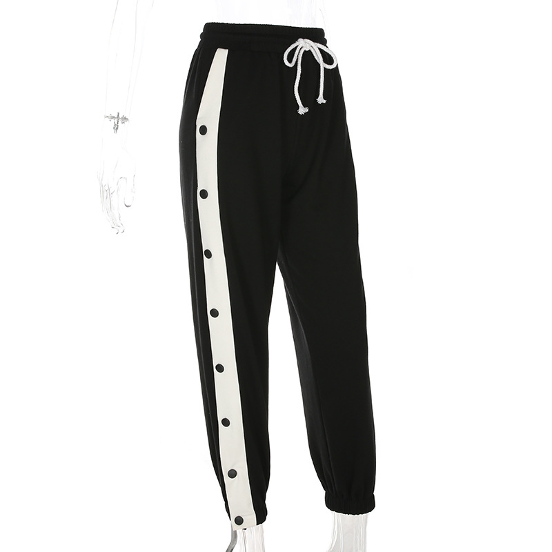 Wholesale casual high waist sport jogger sweatpants womens ladies pant joggers women