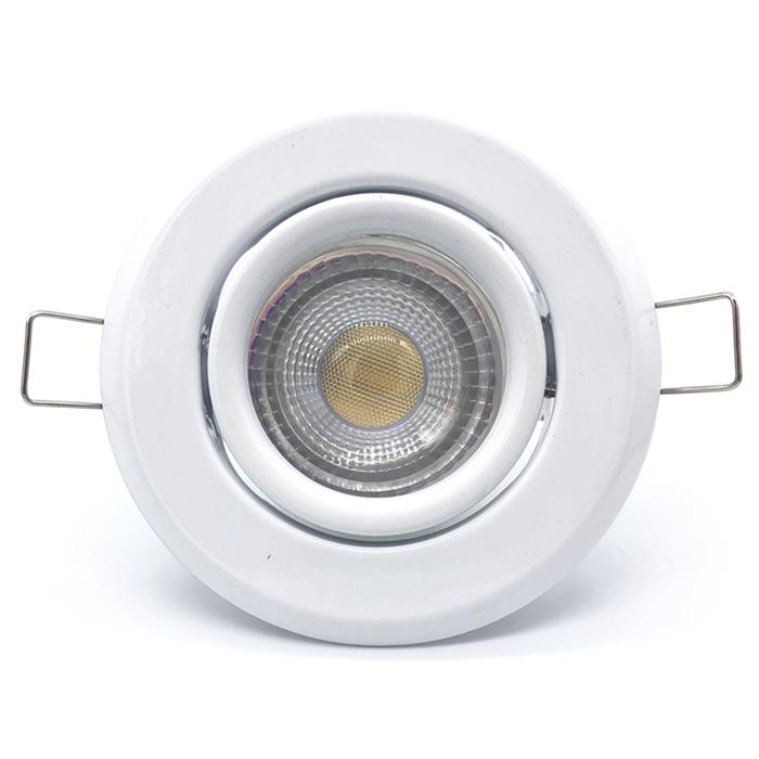 cheap price metal material spotlight fitting with 80mm diameter gu10 led spot light frame