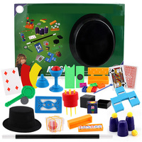Magic tricks props with hat magic tricks wand poker close-up stage magic tricks props set large box