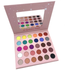 DAVIOO Brand New maquiagens Wholesale Cardboard Makeup Palettes Glitter Eye Shadow Palette