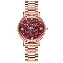 Роскошные женские часы, модные кварцевые часы, браслет из нержавеющей стали с циферблатом, Reloj Mujer Montre Femme, наручные часы, новинка, Montre Femme(Китай)
