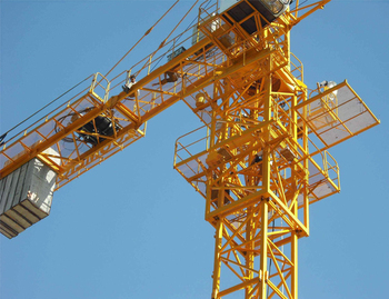 High quality competitive price fixed tower crane for sell