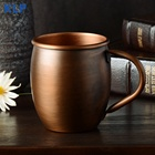 Cup Coffee Coffee Mug KLP Cup Factory High Quality Custom Logo 100% Pure Copper Coffee Cup Moscow Mule Mugs