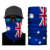 Cheap price canada jamaica american country flag print seamless neck gaiter motorcycle face tube bandana oem