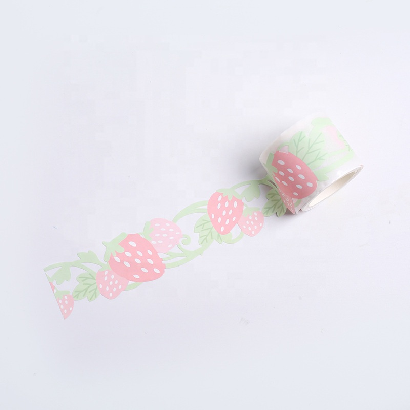 Cute hollow synthetic tape plant series Japanese tape