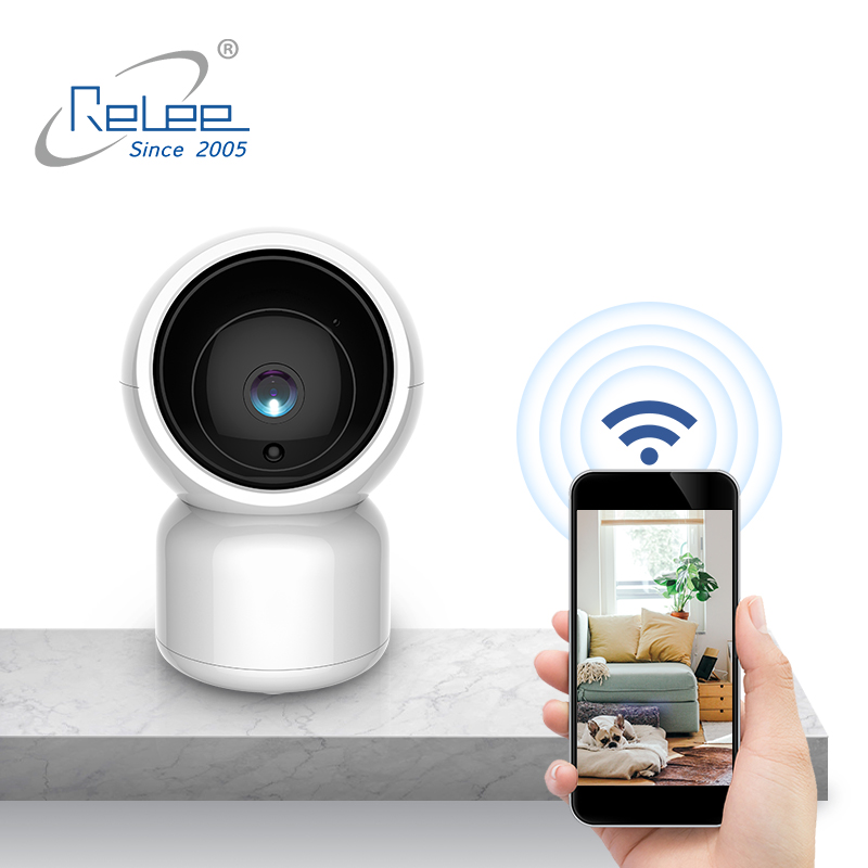 PTZ CCTV slimme indoor home security camera systeem draadloze wifi ip camera