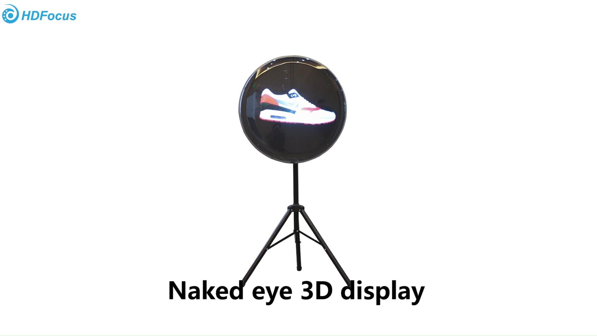 Teknologi Baru Iklan LED Berputar Empat Sayap 3D Hologram Fan Grosir