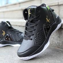 Мужская баскетбольная обувь jordans с высоким берцем, Мужская амортизирующая обувь, баскетбольные кроссовки, противоскользящая дышащая Спорт...(Китай)