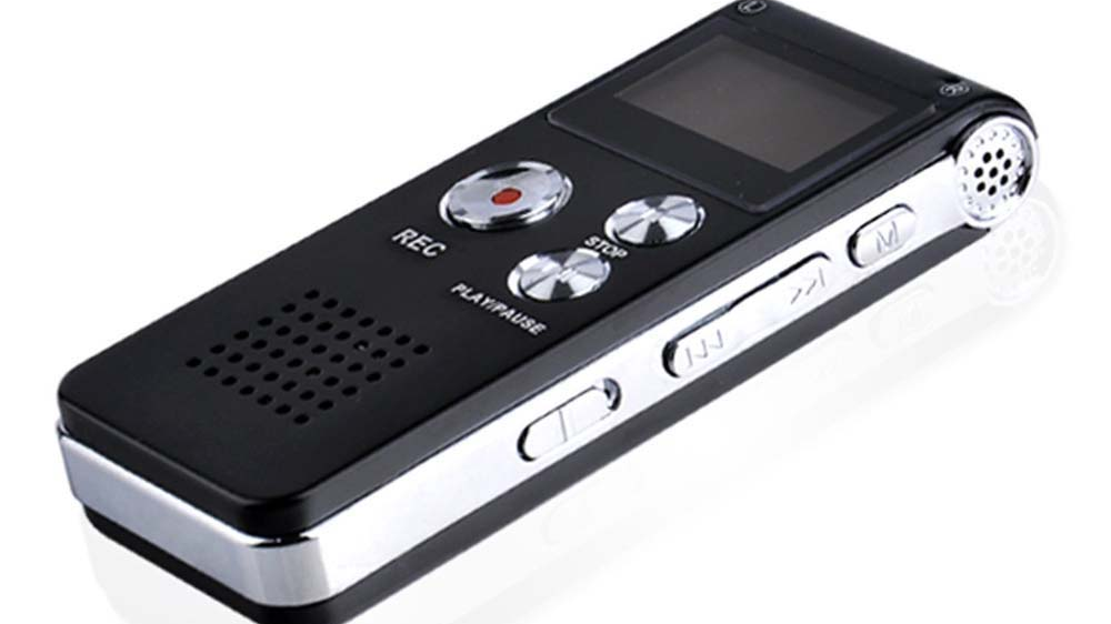 Aomago Long Time Recording 8GB Portable Voice Recorder for Sound Recording