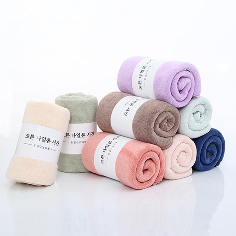 ขายส่ง Luxury COZY น้ำดูดซับไมโครไฟเบอร์แห้งอาบน้ำสปาผ้าเช็ดตัวผ้าเช็ดตัวชุด