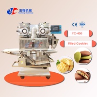 Cookies Encrusting Forming Press Processing Arranging Machine Product Line For Sale