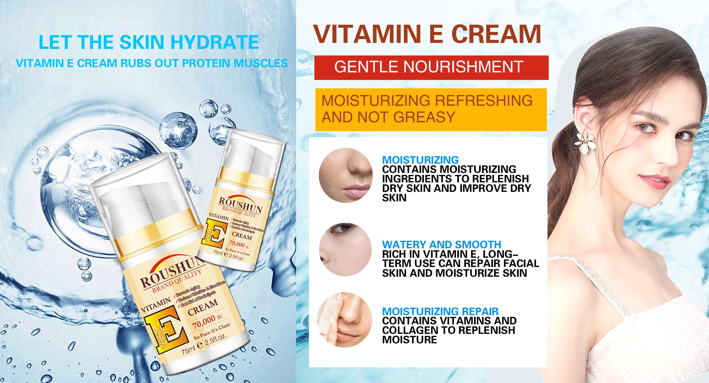 face cream with viatmin e