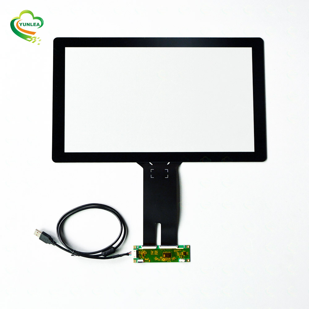 2019 Yunlea hot selling item EETI/ILITEK 16:9 Projected P-cap items EETI chip 15.6&quot; <strong>touch</strong> <strong>screen</strong> overlay <strong>kit</strong>