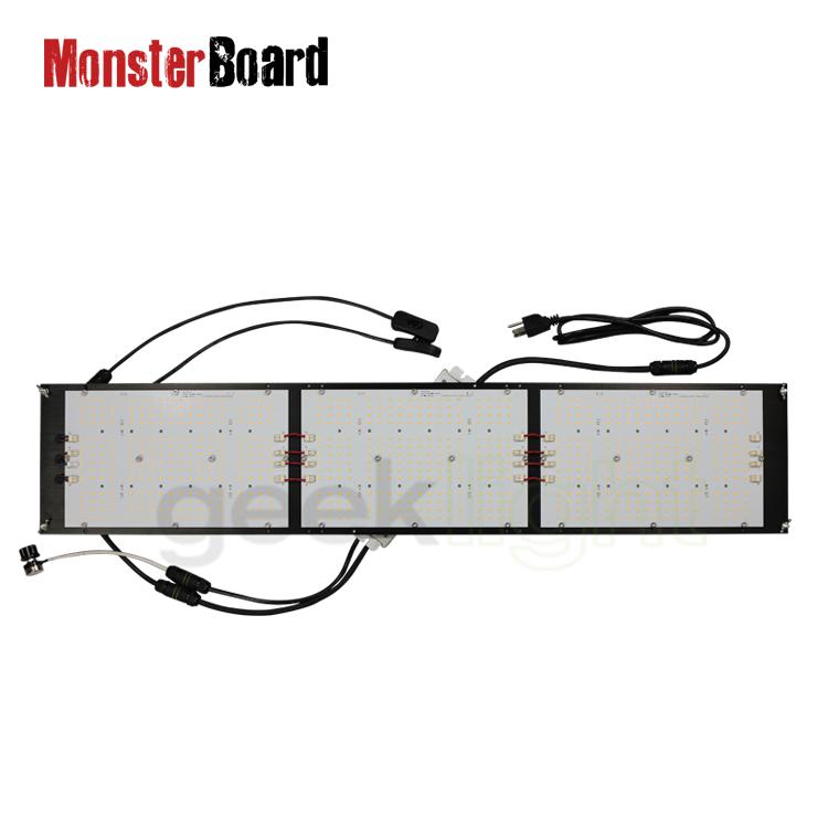 Led Grow Light 240W Monster Board Groeien/V4 Plus Geeklight Uv Ir Schakelaar 3000K 3500K Lm301h cree 660nm Mb 252