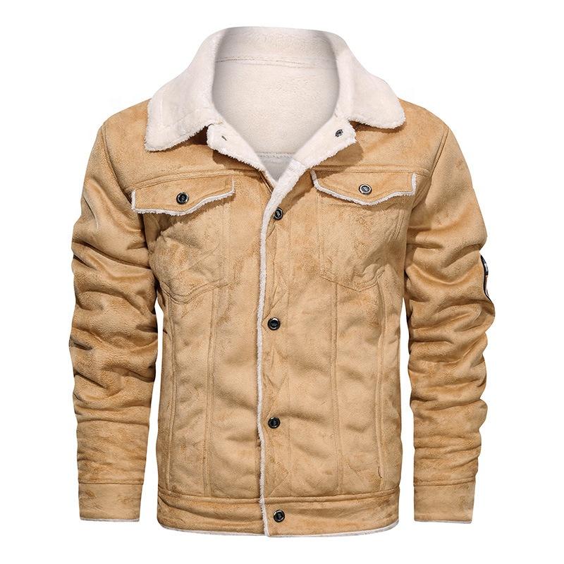 chaquetas de lana hombre invierno